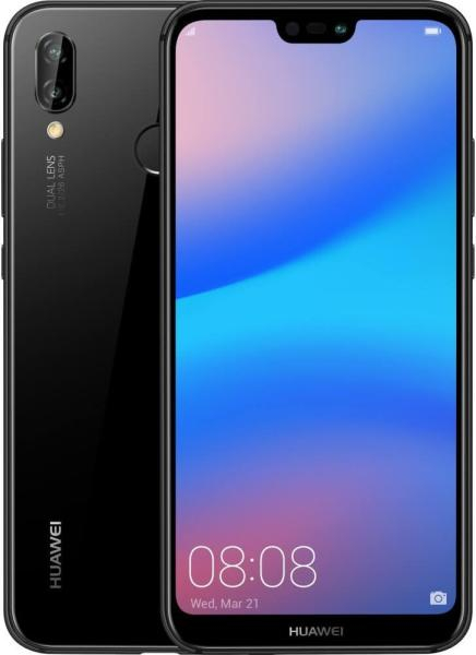 Husa Huawei P20 Lite Flip Oglinda Negru Tip Carte Clear View 5