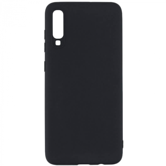 Husa Huawei P30 2019 Negru Silicon Slim protectie Premium Carcasa [0]