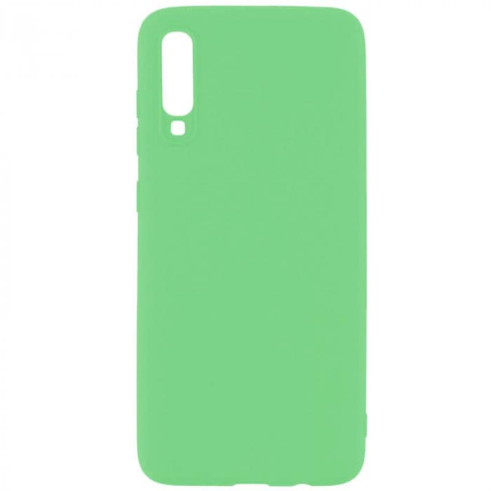 Husa Huawei P30 2019 Verde Silicon Slim protectie Premium Carcasa [0]