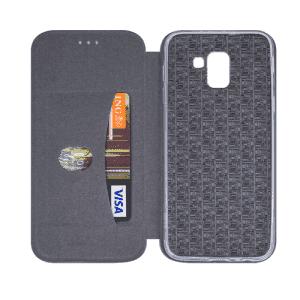 Husa Huawei P30 Lite 2019 Albastru Tip Carte/Toc Flip Cover din Piele Ecologica Portofel cu Inchidere Magnetica 1