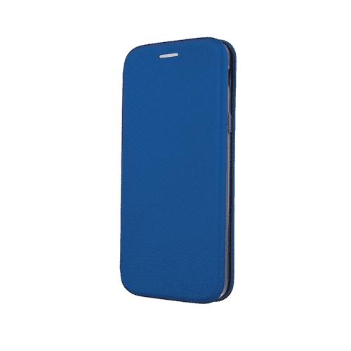 Husa Huawei P30 Lite 2019 Albastru Tip Carte/Toc Flip Cover din Piele Ecologica Portofel cu Inchidere Magnetica 0