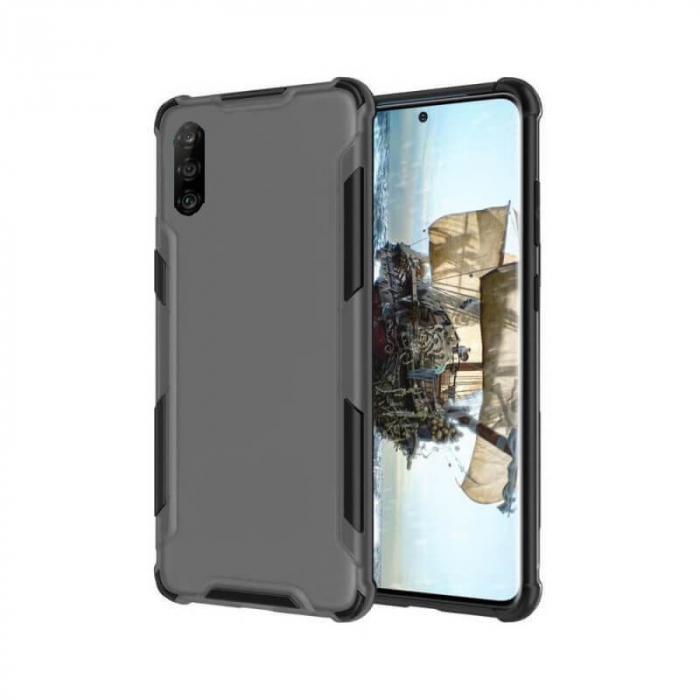Husa Huawei P30 Lite Antisoc Negru 0