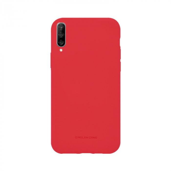 Husa Huawei P30 Lite Silicon Rosu Molan Cano 0