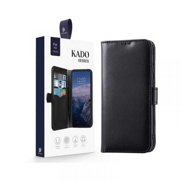 Husa Huawei P30 Pro 2019 Toc Flip Tip Carte Portofel Negru Piele Eco Premium DuxDucis Kado 7