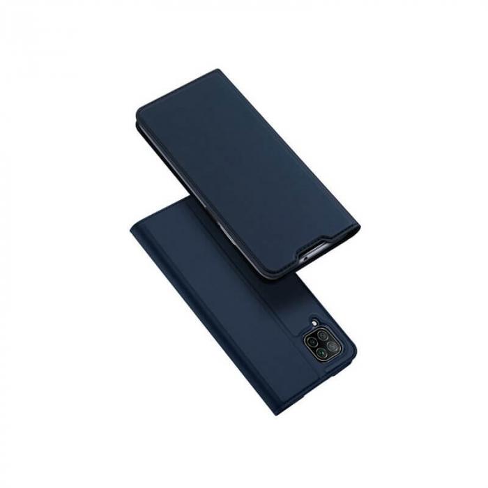 Husa Huawei P40 Lite 2020 Toc Flip Tip Carte Portofel Negru Piele Eco DuxDucis 0