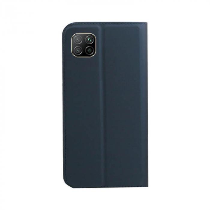 Husa Flip Huawei P40 Lite Tip Carte Albastru Focus [1]
