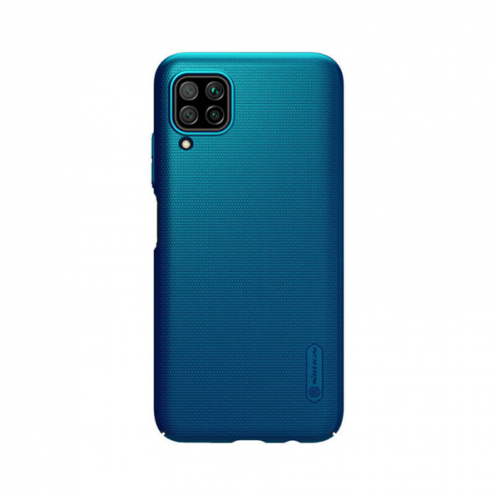 Husa Silicon Huawei P40 Lite Albastru Nillkin Frosted 0