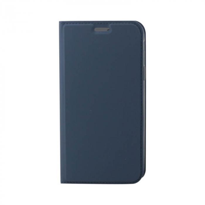 Husa Flip Huawei P40 Lite E Tip Carte Albastru Focus [0]