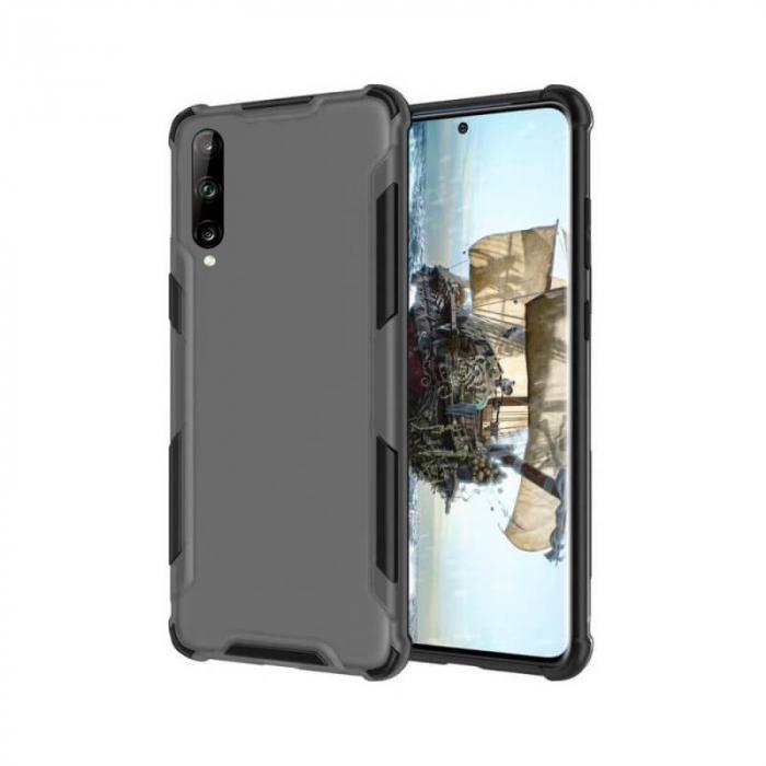 Husa Huawei P40 Lite E Silicon Antisoc Negru Atlas [0]