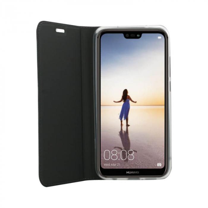 Husa Flip Huawei P40 Lite E Tip Carte Negru Focus [2]