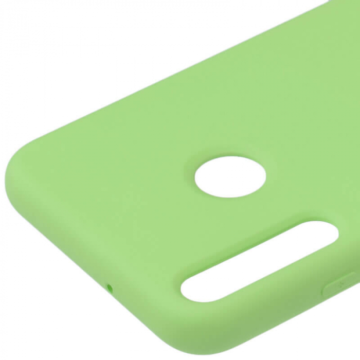 Husa Huawei P40 Lite E Verde Silicon Slim protectie Carcasa [1]