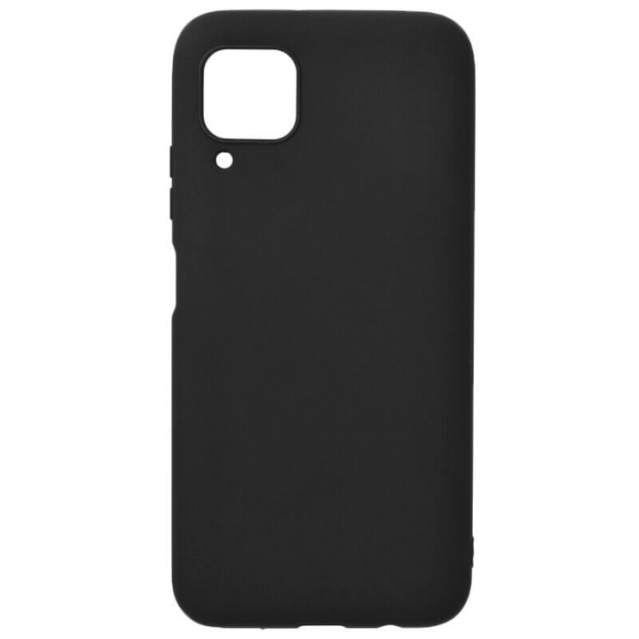 Husa Huawei P40 Lite Negru Silicon Slim protectie Carcasa [0]