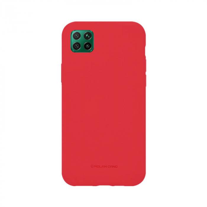 Husa Huawei P40 Lite Silicon Rosu Molan Cano 0