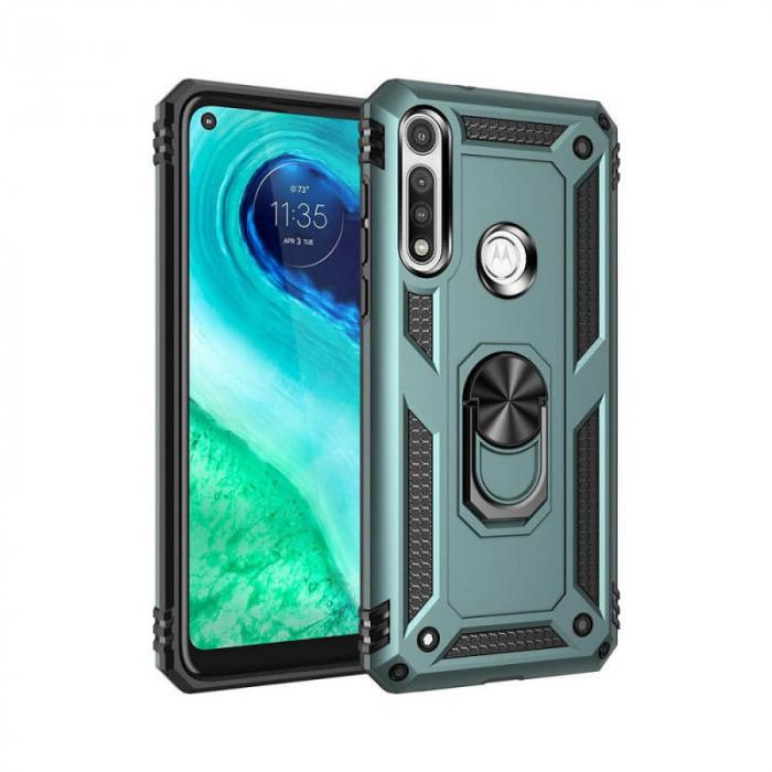 Husa Huawei P40 Lite Verde Carcasa Spate Antisoc Jar [0]