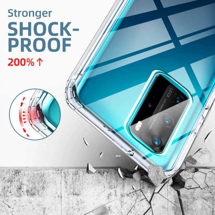 Husa Huawei P40 Pro Full Cover 360 Grade Transparenta [2]