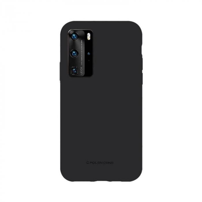 Husa Huawei P40 Pro Silicon Negru Molan Cano 0