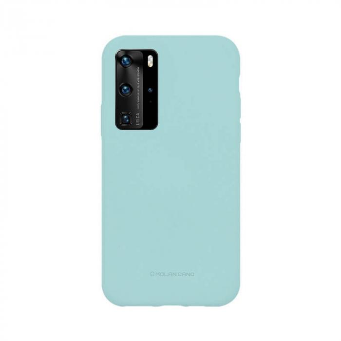 Husa Huawei P40 Pro Silicon Turcoaz Molan Cano 0