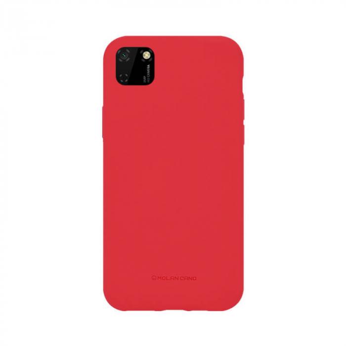 Husa Huawei Y5P Silicon Rosu Molan Cano 0