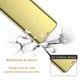 Husa Huawei Y6 2019 Clear View Flip Standing Cover (Oglinda) Auriu (Gold) 1
