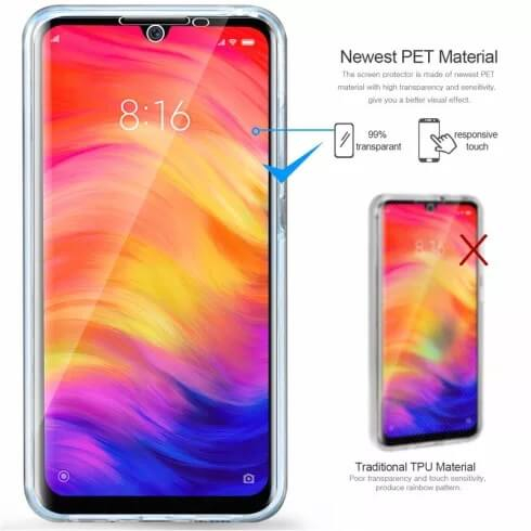 Husa Huawei Y6 2019 Full Cover 360 Grade Transparenta 1