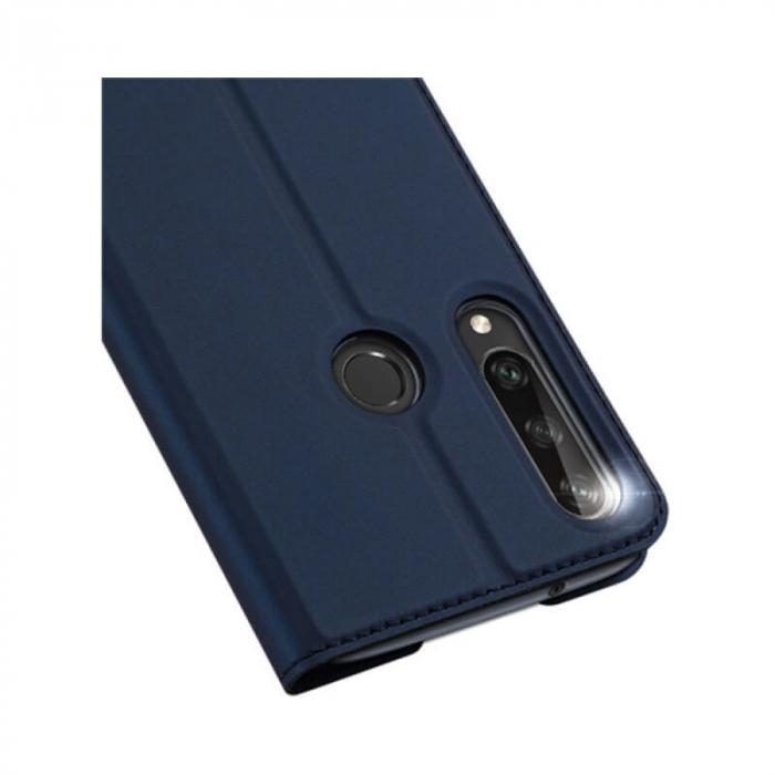 Husa Huawei Y6P 2020 Toc Flip Tip Carte Portofel Bleumarin Piele Eco Premium DuxDucis 4