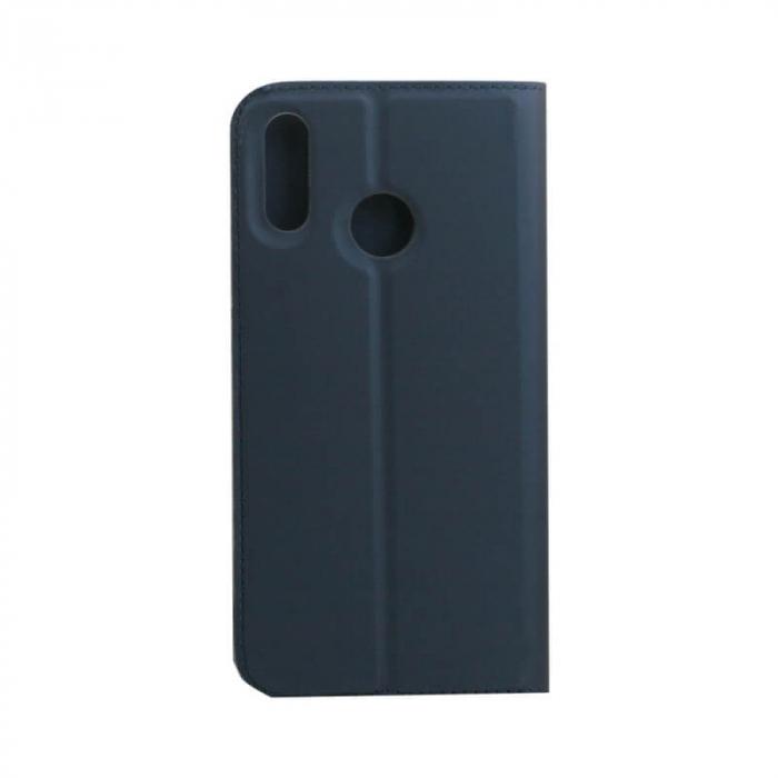 Husa Flip Huawei Y6P Tip Carte Albastru Focus 2