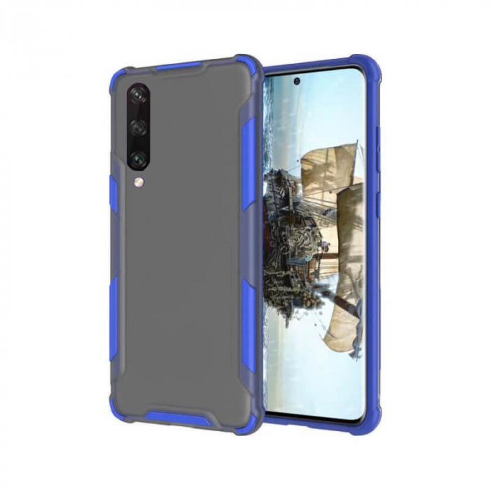 Husa Huawei Y6P Silicon Antisoc Albastru Atlas [0]