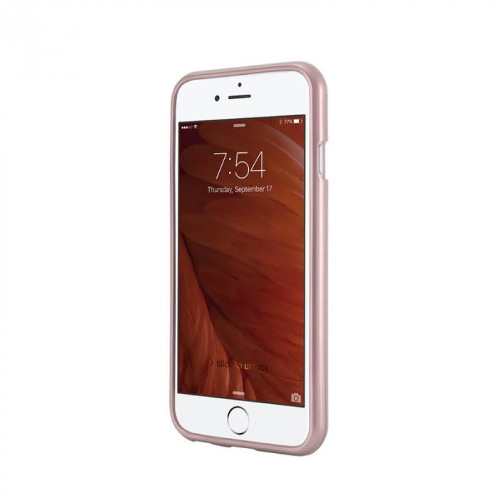 Husa Huawei Y6P Rosegold Jelly Metal 1