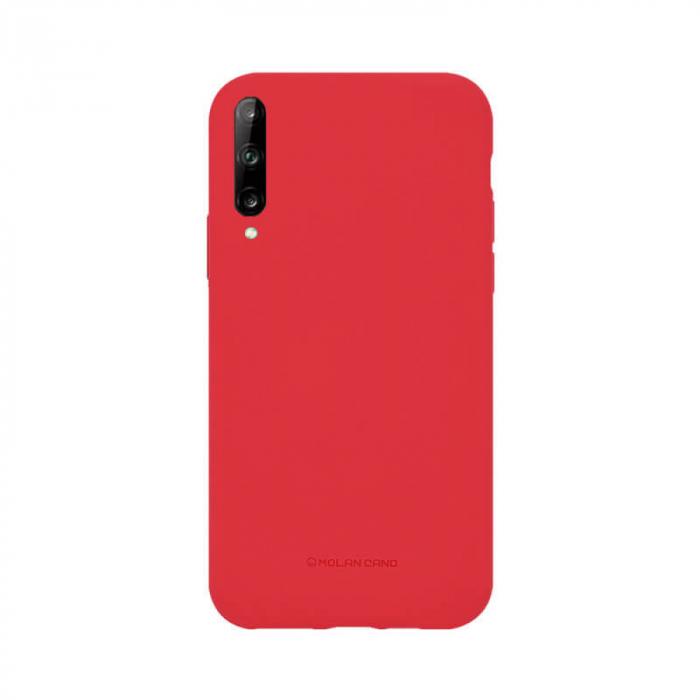 Husa Huawei Y6P Silicon Rosu Molan Cano 0