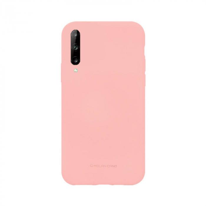 Husa Huawei Y6P Silicon Roz Molan Cano [0]