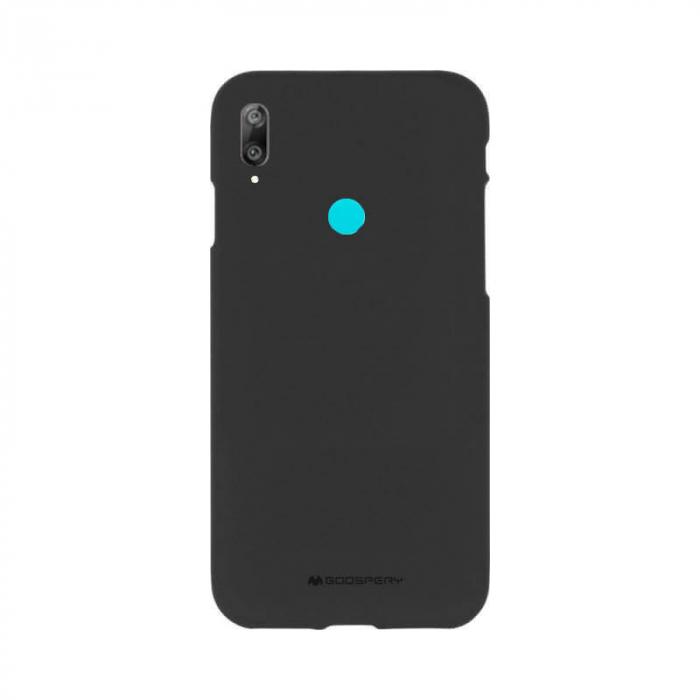 Husa Huawei Y7 2019 Negru Jelly Soft 0