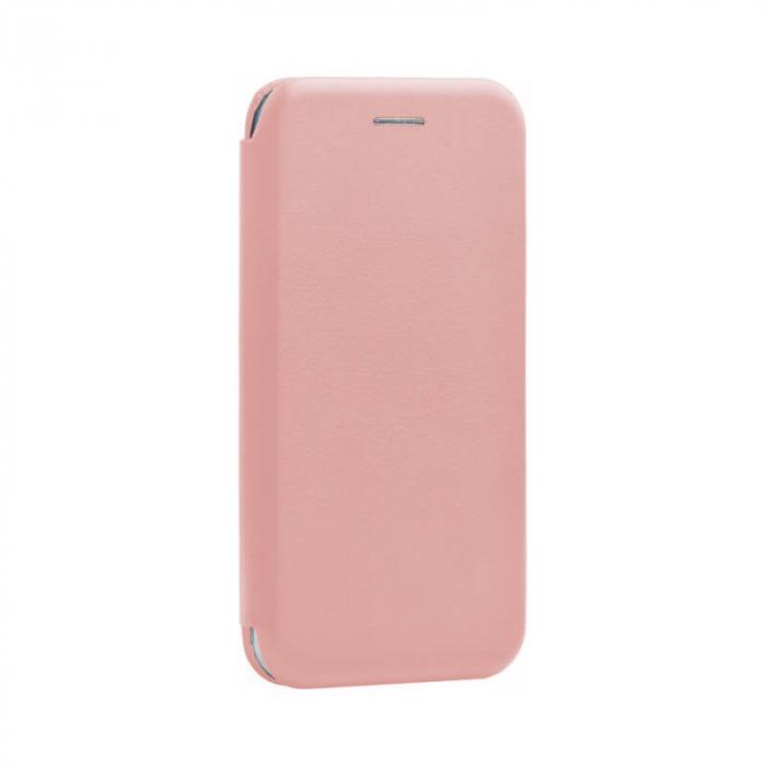 Husa Huawei Y7P Roz Tip Carte Flip Cover din Piele Ecologica Portofel cu Inchidere Magnetica [0]