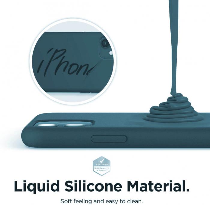 Husa iPhone 11 2019 Bleumarin Silicon Slim protectie Premium Carcasa 4