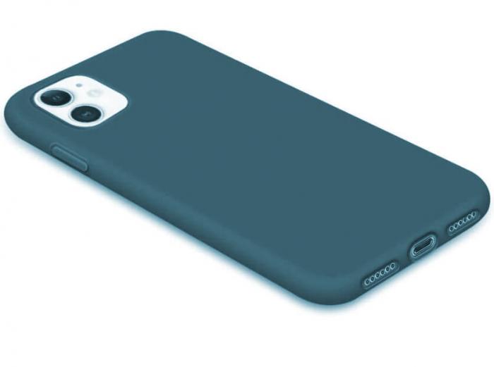 Husa iPhone 11 2019 Bleumarin Silicon Slim protectie Premium Carcasa 5