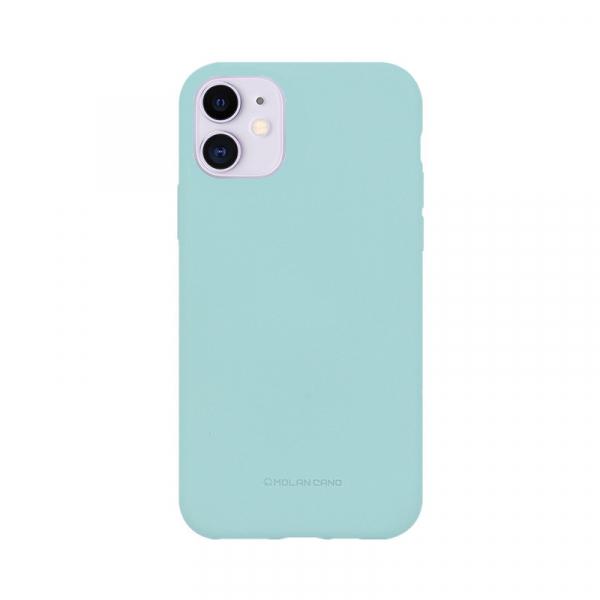 Husa iPhone 11 2019 Turcoaz Carcasa Spate Silicon Mat Molan Cano 0