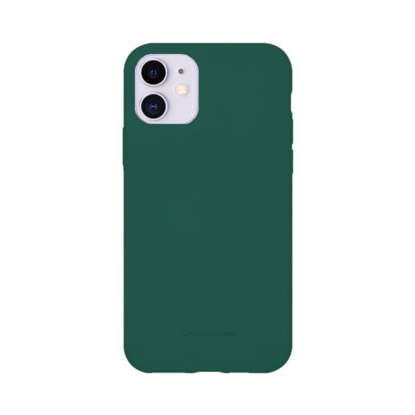 Husa iPhone 11 2019 Verde Carcasa Spate Silicon Mat Molan Cano 0