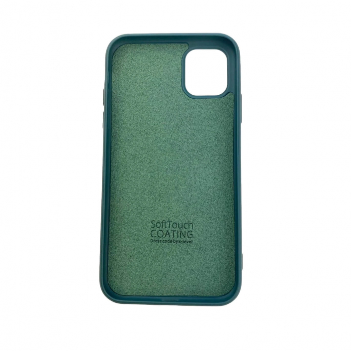 "Husa iPhone 11 - 6.1 "" Carcasa Spate X-Level Thin Soft TPU Premium Dark Green 1"