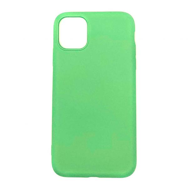 """Husa iPhone 11 - 6.1 """" Carcasa Spate X-Level Thin Soft TPU Premium Verde 0"""
