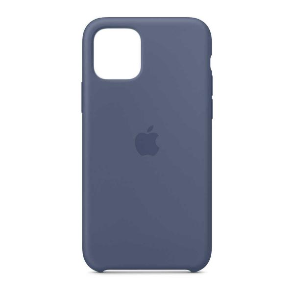 "Husa iPhone 11 Pro 2019 - 5.8 "" Albastru Carcasa Silicon Premium Slim Logo 0"