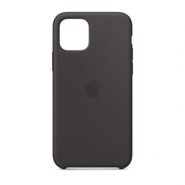 "Husa iPhone 11 Pro 2019 - 5.8 "" Negru Carcasa Silicon Premium Slim Logo 0"