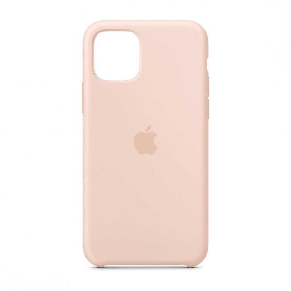 "Husa iPhone 11 Pro 2019 - 5.8 "" Roz Carcasa Silicon Premium Slim Logo 0"