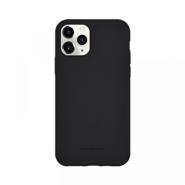 Husa iPhone 11 Pro 2019 Negru Carcasa Spate Silicon Mat Molan Cano 0