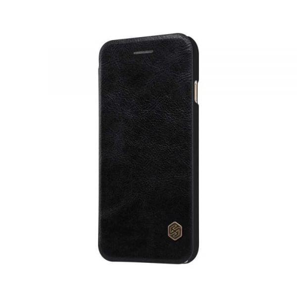 Husa iPhone 11 Pro 2019 Negru Toc Flip Nillkin Qin Piele Eco Premium Tip Carte Portofel 3