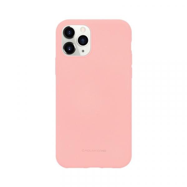 Husa iPhone 11 Pro 2019 Roz Carcasa Spate Silicon Mat Molan Cano 0