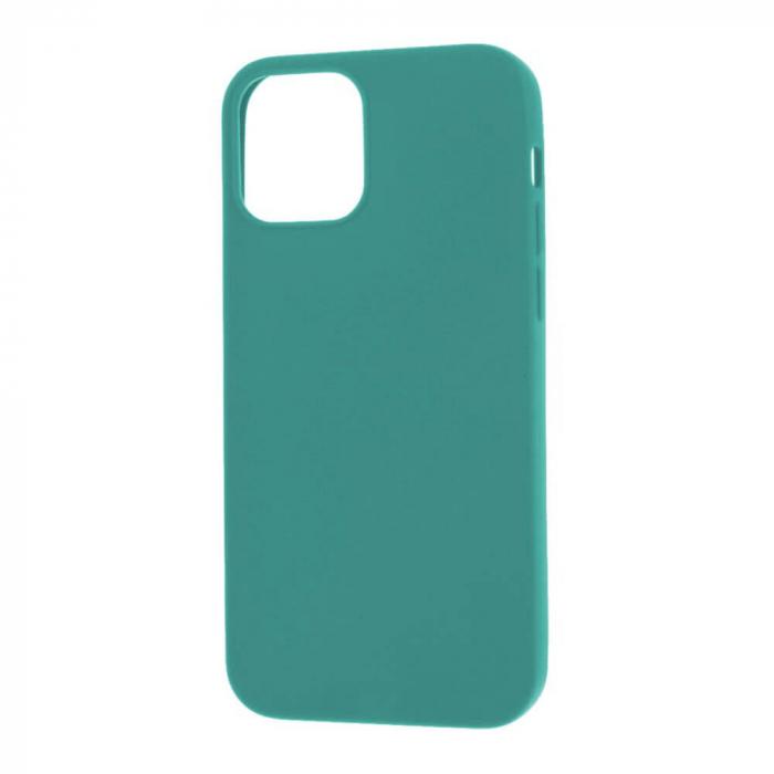 Husa iPhone 12 Mini Dark Green Silicon Slim protectie Carcasa [2]