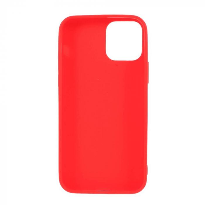 Husa iPhone 12 Mini Rosu Silicon Slim protectie Carcasa [1]