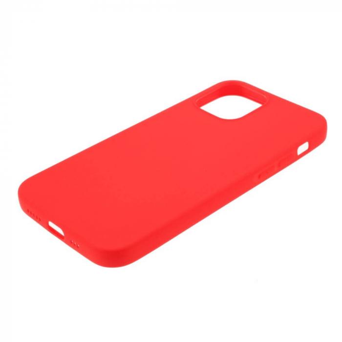 Husa iPhone 12 Mini Rosu Silicon Slim protectie Carcasa [4]