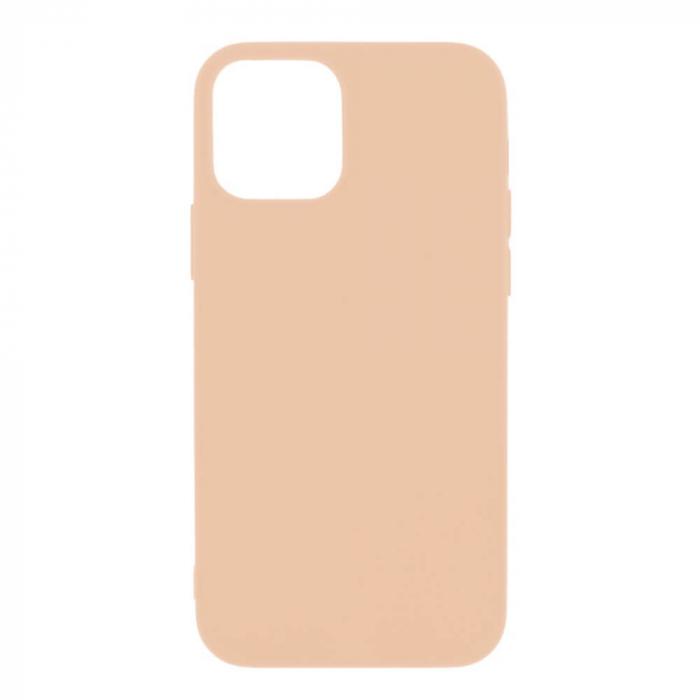 Husa iPhone 12 Roz Silicon Slim protectie Carcasa [0]