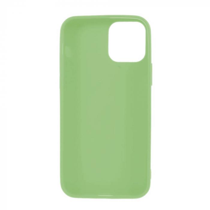 Husa iPhone 12 Mini Verde Silicon Slim protectie Carcasa 1