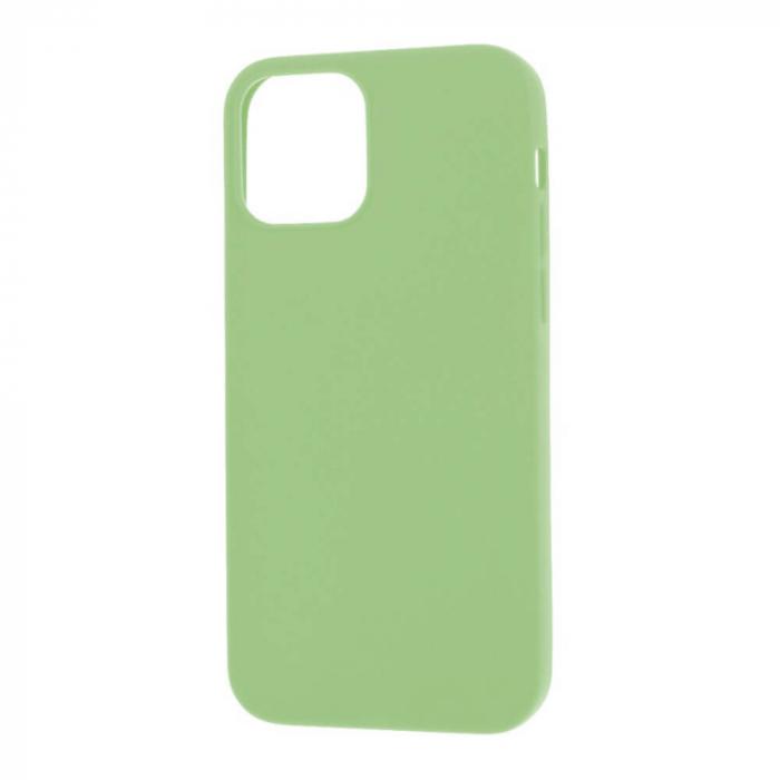 Husa iPhone 12 Verde Silicon Slim protectie Carcasa [2]
